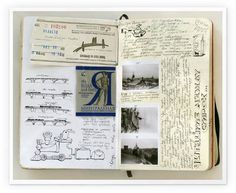 100+ Beautiful Moleskine Sketchbook Sketches