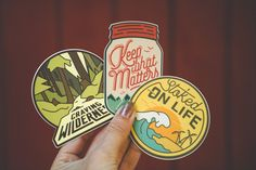 What do we live for if not adventure? We're the generation of experience seekers who appreciate the wild nature, remote destinations, and untouched places. This sticker set will accompany you on adven