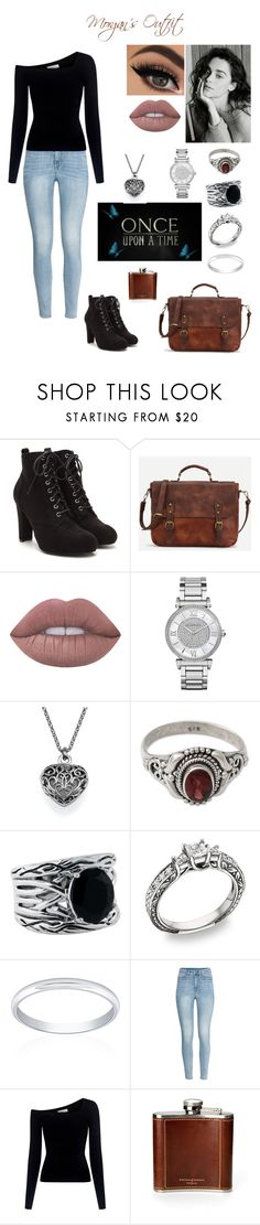 """Chapter Two"" by ectopicknight on Polyvore featuring Once Upon a Time, Lime Crime, Michael Kors, NOVICA, Effy Jewelry, Belk & Co., H&M, A.L.C. and Aspinal of London"