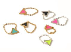 Bagues Mini triangle