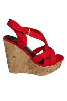 LOVE red wedges, would also love these in blue