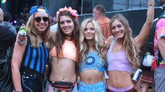 Lollapalooza Girls Wore Bodysuits, Crochet and All Kind of Hats