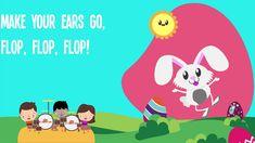 Easter Bunny Hop Hop Hop Song Lyrics for Kids   Nursery Rhymes for Children