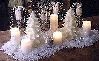 Centro tavola di Natale, precious
