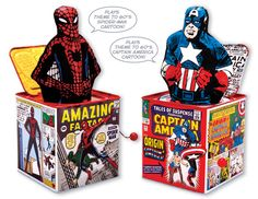 Marvel Jack-In-the-Boxes