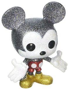 Disney Mickey Mouse (Diamond Collection) F. Pop Disney, Disney Mickey, Mickey Mouse, Funko Pop Figures, Pop Vinyl Figures, Barbie, Funko Pop Display, Funko Pop Anime, Funko Pop Dolls