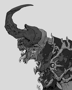 demon, David Sequeira on ArtStation at…