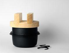 Rice Cooker * Nambu Ironware by Nobuho Miya [ Kamasada] - Analogue