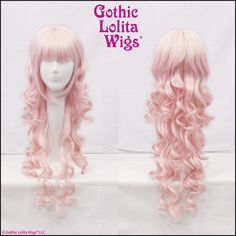 Gothic Lolita Wigs® Duchess Elodie™ Collection - Powder Pink Mix – Dolluxe®
