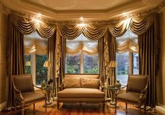 ideas-awesome-window-valance-ideas-living-room-using-antique-satin-drapery-fabric-for-criss-cross-swag-also-roman-sheer-shades-with-led-down-light-alongside-sofa-and-armchair-set-600x422.jpg (600×422)