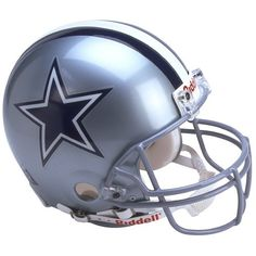 Riddell Dallas Cowboys Proline Authentic Football Helmet - With navy blue or white decals on the facemask - Wow! Cowboys Stadium, Cowboys Football, Football Team, Dallas Cowboys, Football Helmets, Super Bowl, All Nfl Teams, Sports Teams, Dallas Sports