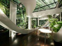 Indoor Gardening and Plant Design Ideas herb gardens indoor design . Interior Garden, Interior And Exterior, Interior Balcony, Interior Ideas, Modern Interior, Interior Decorating, Architecture Design, Garden Architecture, Architecture Office