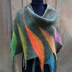 Ladies Casual Multicolor Stripes Round Neck Scarves & Shawls Crochet Wrap Pattern with . Women& Casual Multicolor Stripes Round Neck Scarves & Shawls Crochet Wrap Pattern with Buttons - NewChic Mobile. Crochet Wrap Pattern, Womens Scarves, Winter Fashion, Capes, Stripes, Knit Shawls, Knitted Scarves, Purple Yellow, Crotchet