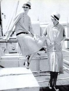 Fashion by Chanel - 1920's - Photo by Edward Steichen (American, 1879- 1973)