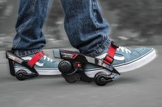 Razor Turbo Jetts Motorized Skates Are Like Heelys on 10mph Steroids #fashion #future #heelys #motorized #razor #shoes #skates If you miss your pair of Heelys or have always wanted a pair then these skates may make you reconsider. These are a huge upgrade to the classic shoe a...
