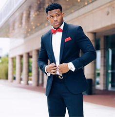 Der Gentleman Style Wedding Suits Black Suit Men Dress