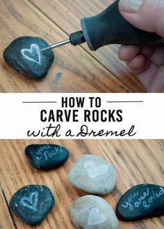 Carved Rocks = Love Rocks                                                                                                                                                                                 More