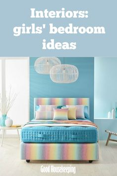 Need some inspiration for a girl's bedroom? Check out the ideas below!