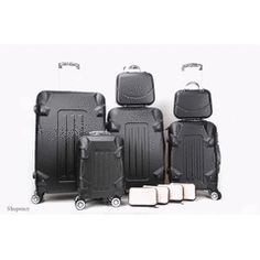 Luggage Sets - Luxury ABS Lightweight Design 10 Piece Luggage Set for sale in Johannesburg Luggage Sets, Travel Luggage, Cosmetic Bag, Style Guides, Style Icons, Luxury, Stuff To Buy, Design