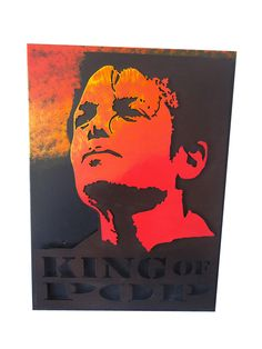 Cuadro king of pop  61cm x 45cm x 6,5cm $ 290.000