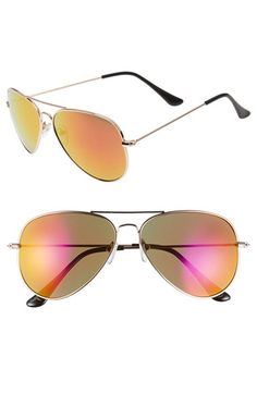 Free shipping and returns on BP. Mirrored Aviator 57mm Sunglasses (Juniors) at Nordstrom.com. Metal frames and mirrored lenses provide a pair of shades with plenty of retro appeal plus 100% UV protection.
