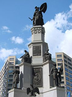 Michigan Soldiers' and Sailors' Monument, Detroit, Michigan