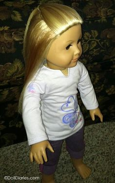 Put two tablespoons of liquid Downy fabric softener in a spray bottle of water and just spritz your doll's hair with the softener solution any time you need to give her a touch up or even if she needs some major work. http://dolldiaries.com/softener-spray-for-doll-hair-care/
