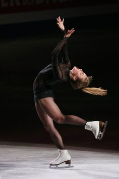 Ashley Wagner of USA performs her routine in the exhibition during ISU World Figure Skating Championships at Saitama Super Arena on March 30, 2014 in Saitama, Japan.