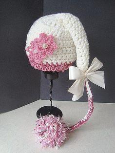 Crochet PATTERN Pixie hat SPP46 SweetPotato by sweetpotatopatterns, $3.99