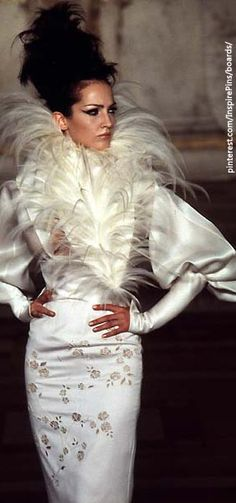Alexander McQueen for Givenchy Haute Couture S/S 1997