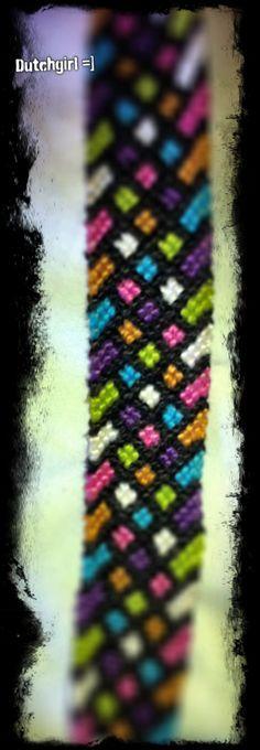 Added by dutchgirl Friendship bracelet pattern 4975