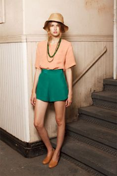Creatures Of Comfort's Prairie Woman-Chic Collection #refinery29  http://www.refinery29.com/creatures-of-comfort-spring-2011-lookbook#slide-3  ...