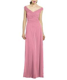 DescriptionAfter Six Style 6667Full length bridesmaid dressOff the shoulder…