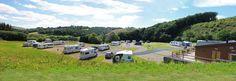 Red Kite Touring Caravan Parks Mid Wales Llanidloes Powys