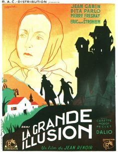 1937 Prix Contribution Artistique Jean RENOIR LA GRANDE ILLUSION Jean Renoir, See Movie, Film Movie, Illusion Movie, Breaking Bad Movie, Jean Gabin, Female Cop, Underwater City, Life Of Crime
