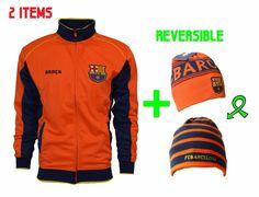 Fc Barcelona Hoodie Zip Up Jacket Soccer Adult Kids Sizes Sweatshirt Hooded d30c622c6