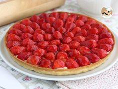 #menú #postre #Tartaleta de #fresas como en #pastelería --> https://www.petitchef.es/recetas/postre/tartaleta-de-fresas-como-en-pasteleria-fid-1568102 + video paso a paso