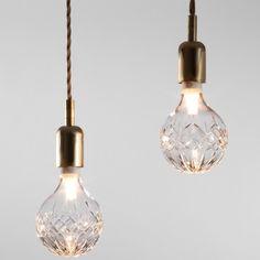 Crystal Bulb // for special exposed bulbs, brilliant