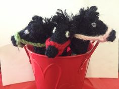 Crochet Horse Finger Puppet - Made in the USA - Cute party favor.