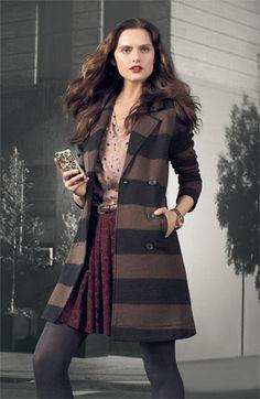 Splendid 'London' Stripe Jacket | Nordstrom