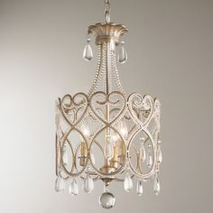 For the Home Joli Scrolls Mini Chandelier Chandelier home Joli Mini Scrolls small Chandelier Chandelier Chain, Chandelier Shades, Chandelier Lamp, Shabby Chic Chandelier, White Chandelier, Small Bathroom Chandelier, Small Chandeliers, Crystal Chandeliers, Crystal Pendant Lighting