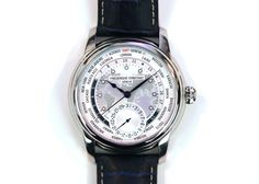 Frederique Constant Worldtimer. Beautiful and with an in house movement to boot.