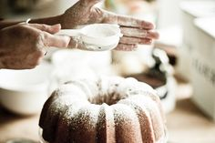 Vegan Meyer Lemon Coconut Bundt Cake