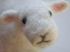 Morley needle felted sheep