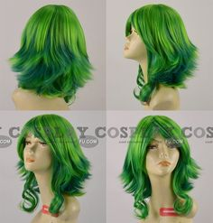 Gumi Wig (HiFi Raver) from Vocaloid - Tailor-Made Cosplay Costume