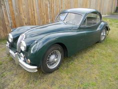 Jaguar : 1956 XK SE in Jaguar 140 FHC Fixed Head Coupe