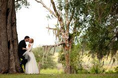 Jessica & Terry on Borrowed & Blue.  Photo Credit: Julie Anne, Wedding Photographer