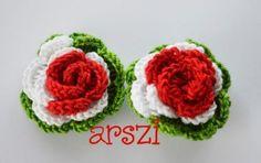 cockade Crochet Roses, Bead Earrings, Baby Shoes, Purses, Beads, Jewelry, Craft Jewelry, Ear Studs, Loom