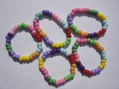 girl scout daisy friendship bracelet - uses the colors of the Daisy petals
