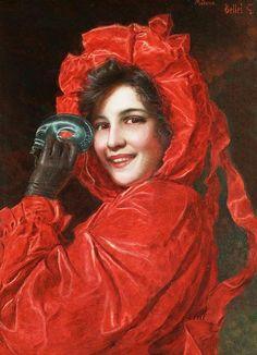 Gaetano Bellei (italian painter) - The masquerade